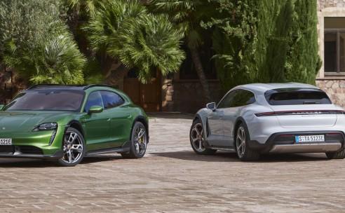 Wereldpremière Porsche Taycan Cross Turismo: de allrounder onder de elektrische sportwagens